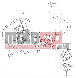SUZUKI - GSX-R600 (E2) 2001 - Engine/Transmission - 2ND AIR - 18531-35F10-000 - COVER, REED VALVE