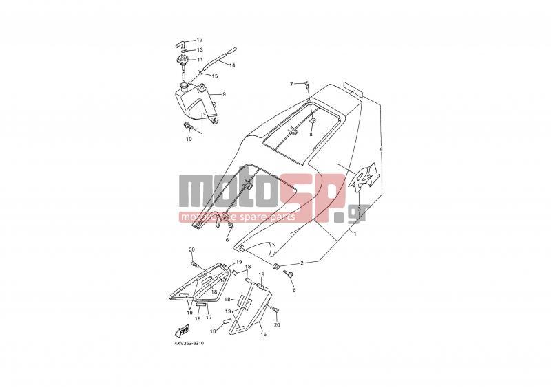motosp - yamaha - yzf r1  grc  1999 - body parts