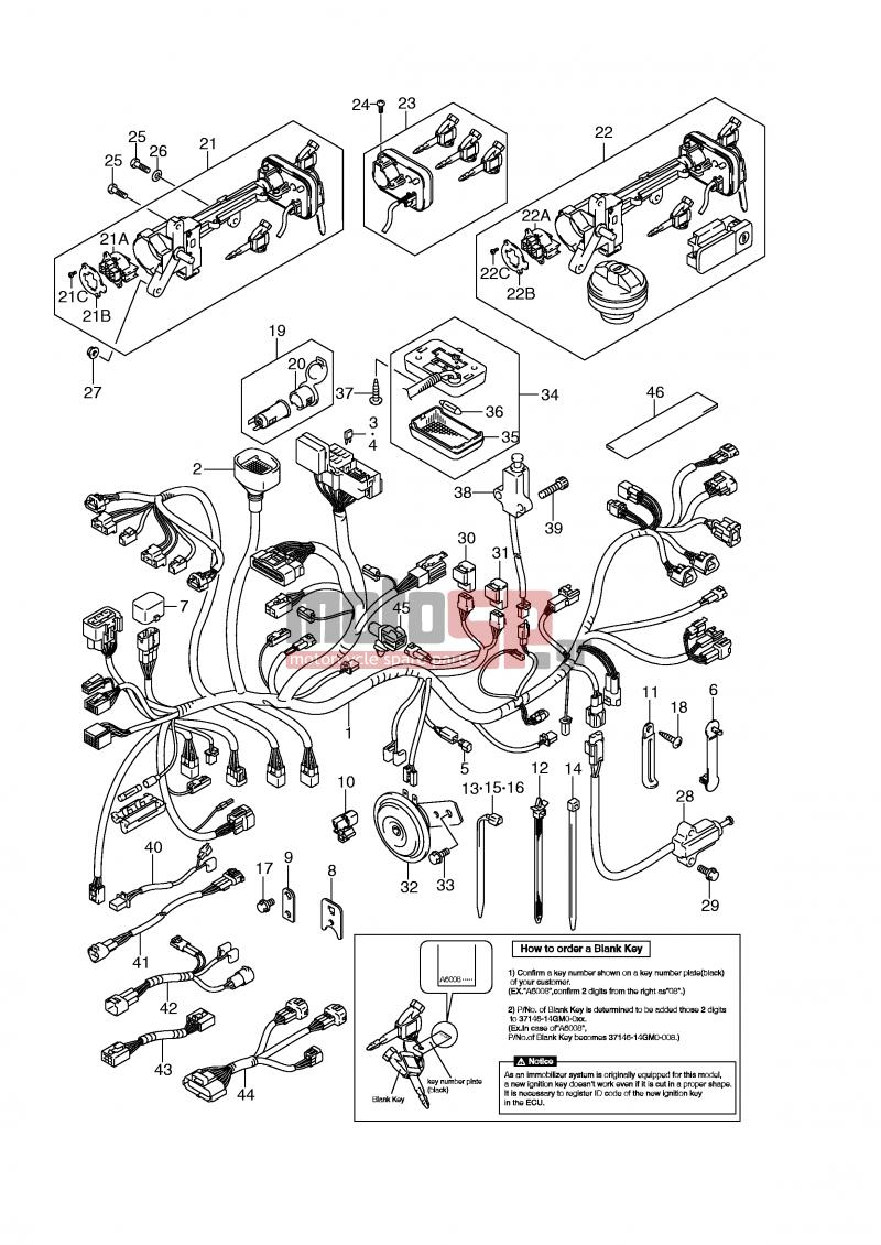 suzuki vinson front suspension diagram