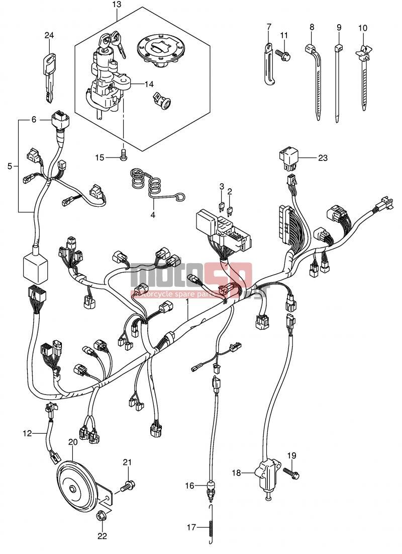 suzuki v strom 1000 2004 wiring diagram  suzuki  auto