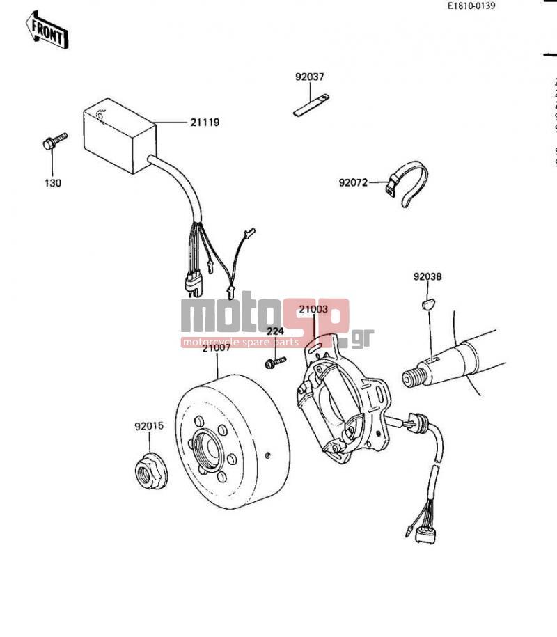 kawasaki kx80 wiring diagram wiring schematic diagram Kawasaki Kx80 Wiring Diagram