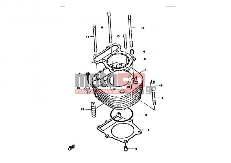 yamaha xt500 engine diagram  yamaha  wiring diagrams schematic