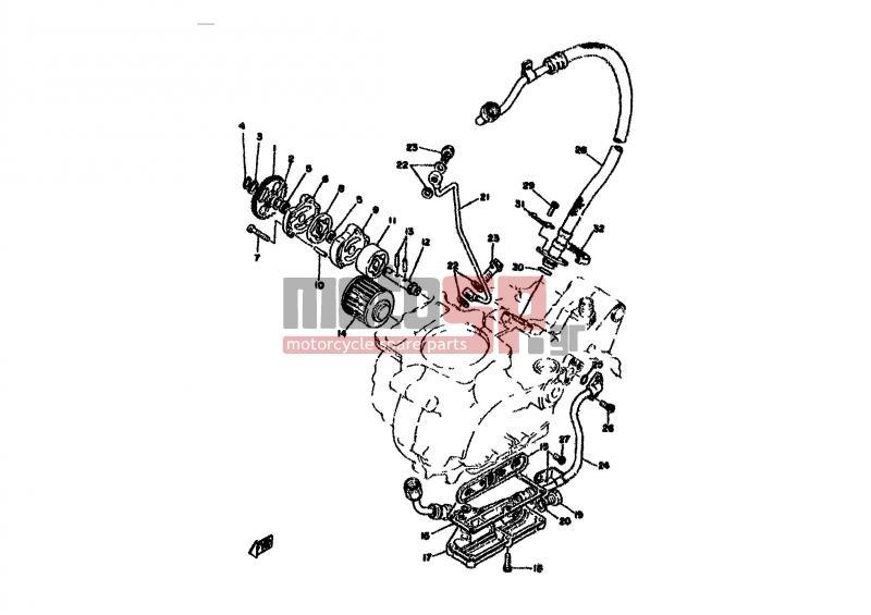 Motosp Yamaha Xt500 Eur 1978 Replacement Parts