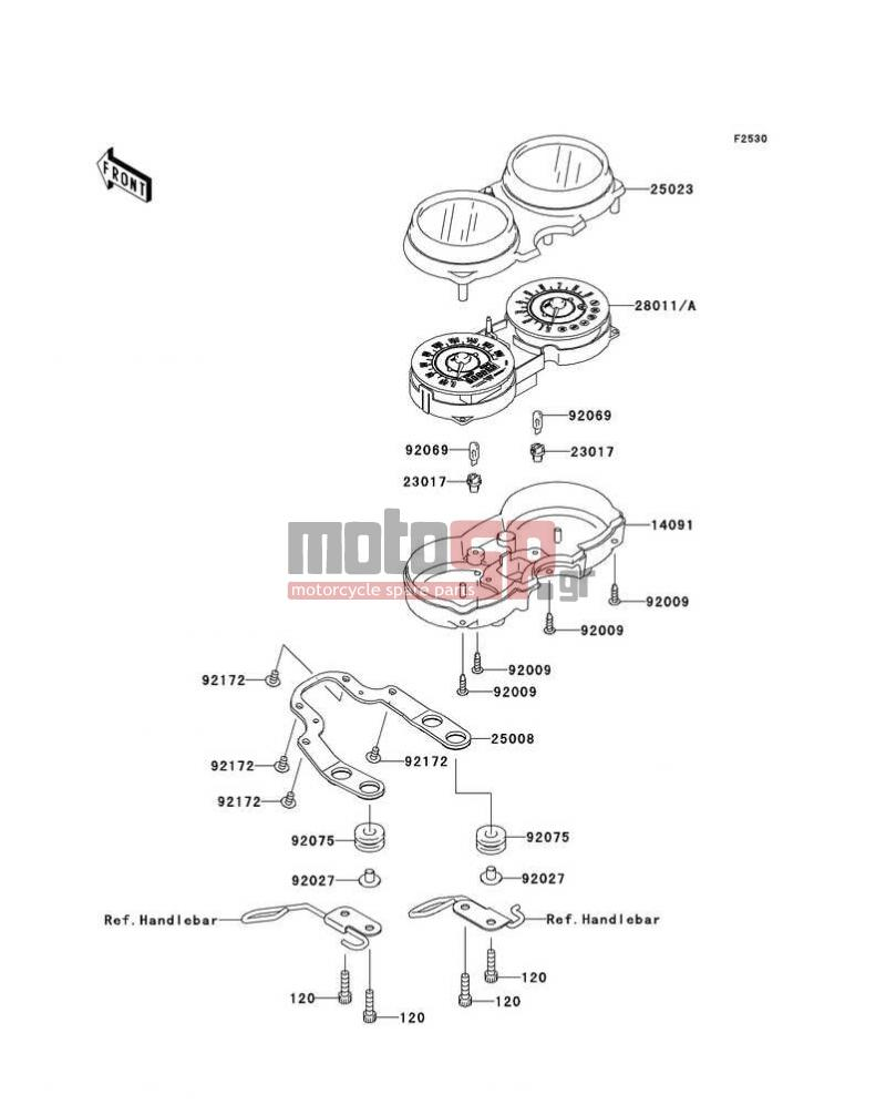 Motosp Kawasaki W800 European 2011 Electrical Replacement Parts Wiring Diagram Electricalmeters