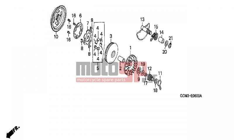 motosp - honda - szx50  x8r   it  2001