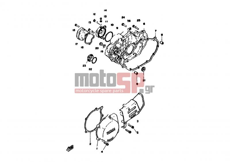 yamaha xt500 engine diagram  yamaha  wiring diagrams schematic