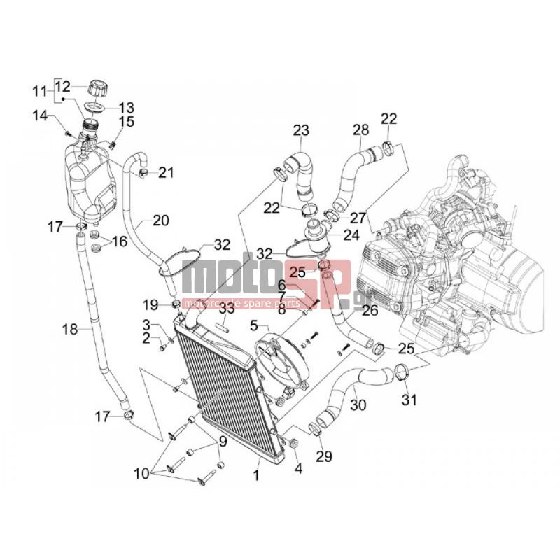 motosp gilera gp 800 2007 replacement parts rh motosp gr Yamaha GP800 Engine GP800 Years