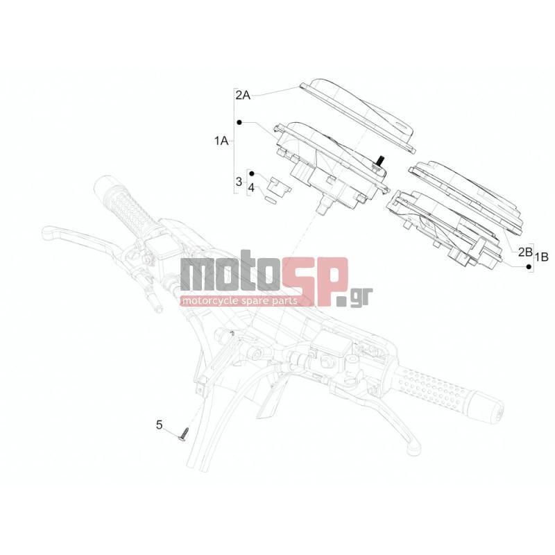 motosp vespa gts 250 2016 electrical complex instruments rh motosp gr