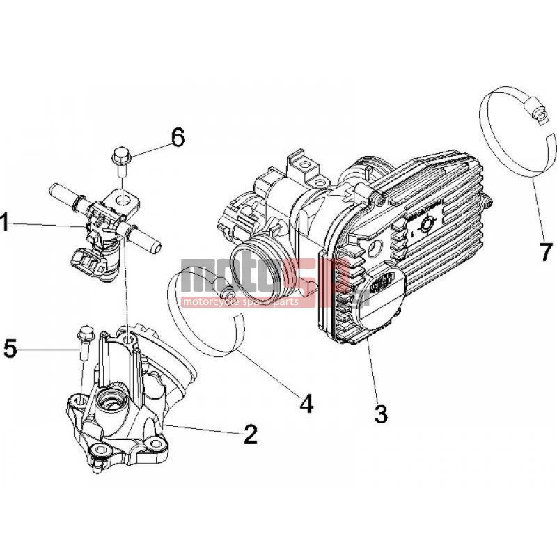 motoSP - Vespa - GTS 250 2016 - Engine/Transmission ... on