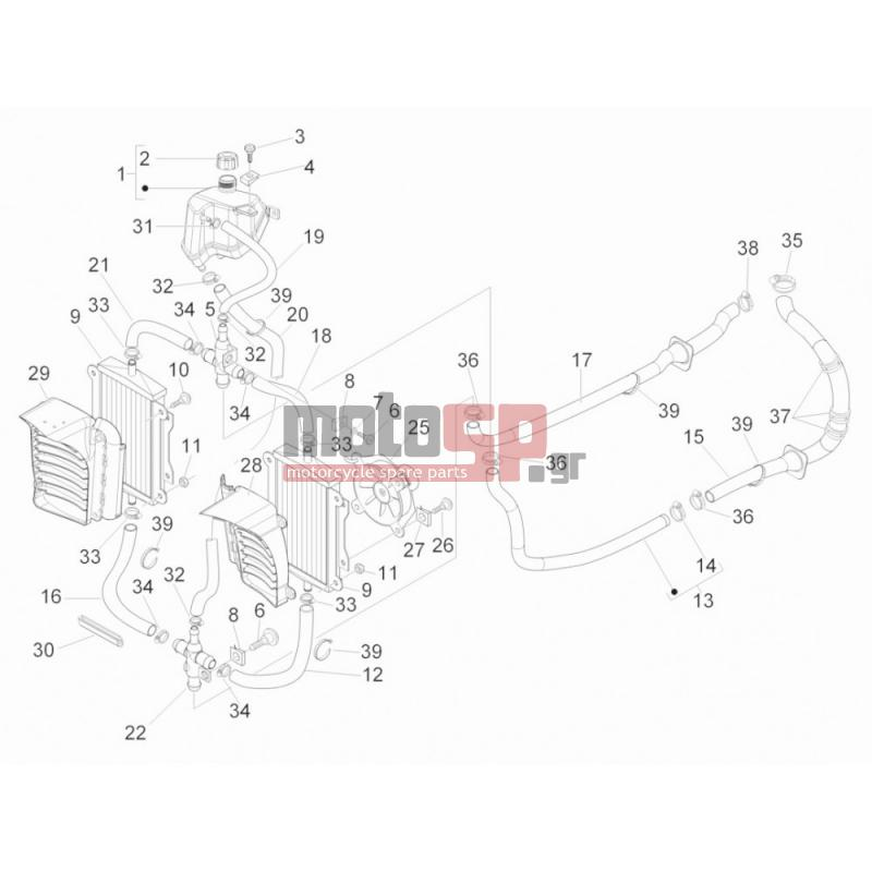 motoSP - Vespa - GTS 300 IE 2013 - replacement parts on